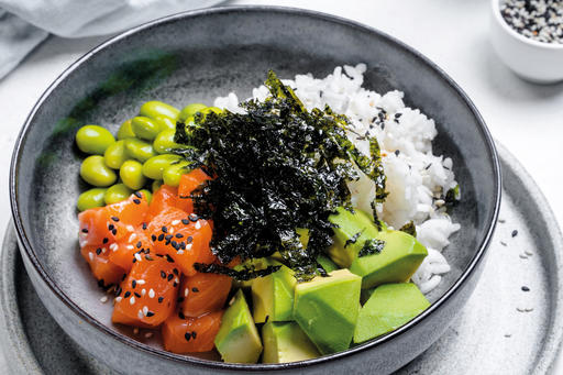 Поке с рисом