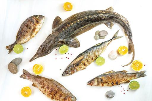 Рыбное ассорти гриль