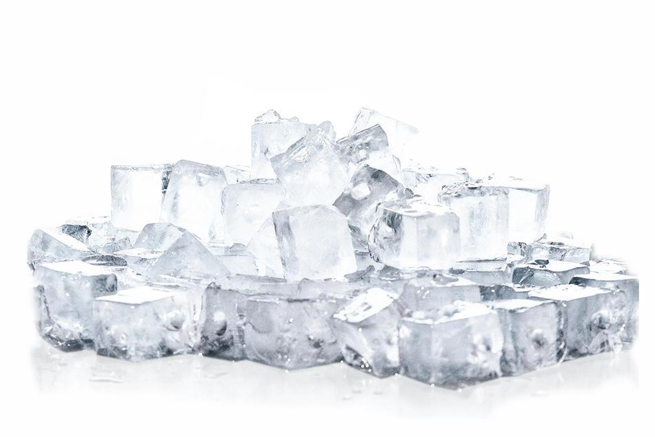 Лед кусковой