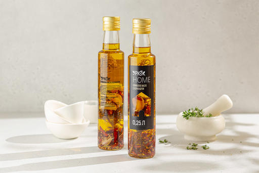 Оливковое масло с кориандром