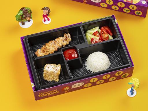 Комбо с куриным шашлычком + игрушка
