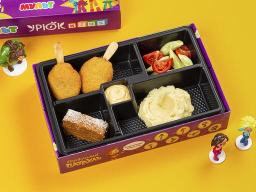 Комбо с куриным эскимо + игрушка