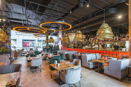 Ресторан «Урюк» в ТРЦ «Метрополис», 4 этаж